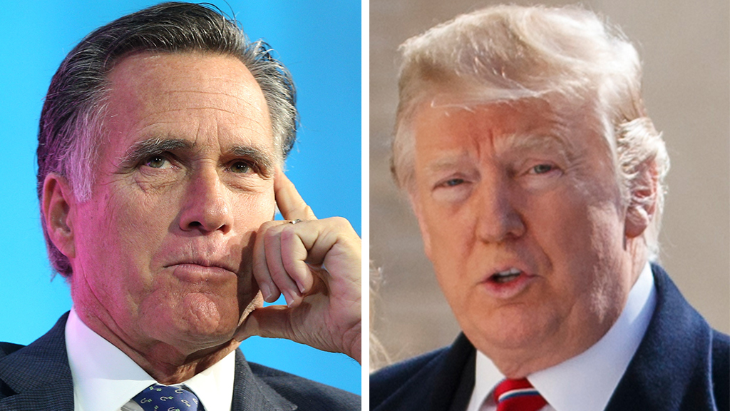 Westlake Legal Group Romney-Trump Romney calls Obama, Biden 'honorable,' refrains from calling Trump the same Joseph Wulfsohn fox-news/politics/senate/republicans fox-news/politics/executive/white-house fox-news/person/mitt-romney fox-news/person/joe-biden fox-news/person/donald-trump fox-news/person/barack-obama fox-news/media fox news fnc/politics fnc article 6c769939-fcea-536c-b23f-359413c48ef6