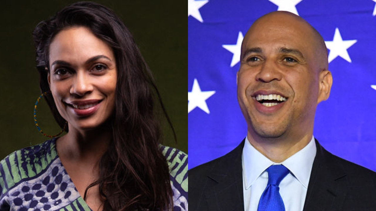 Rosario Dawson reacts to boyfriend Cory Booker ending presidential run: 'Your love lifts us all up'
