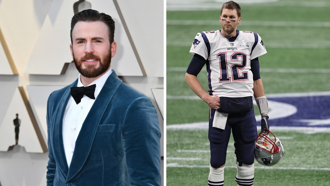 Chris Evans says he 'might have to cut ties' with Tom Brady: 'I really hope he's not a Trump supporter'