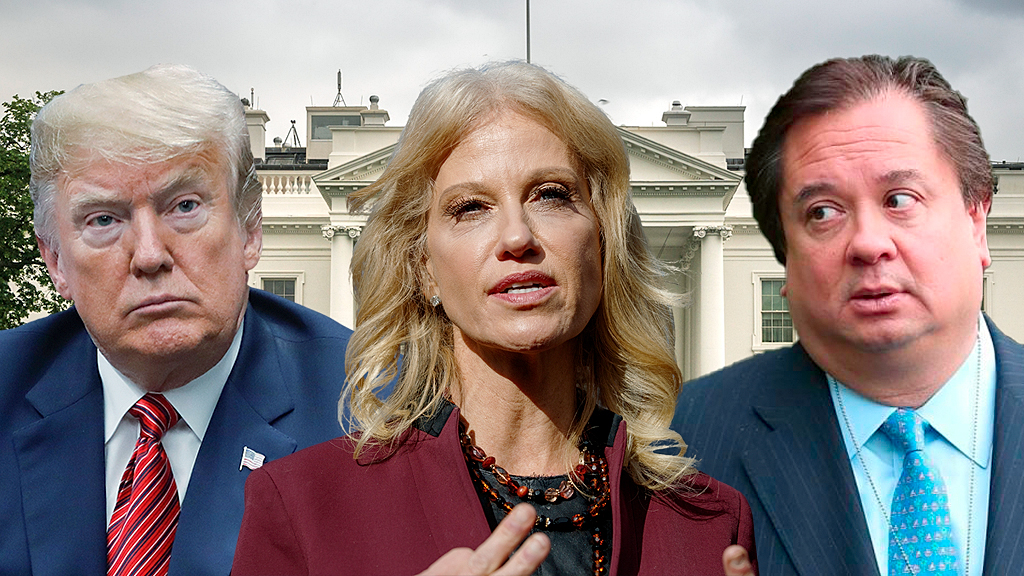 Kellyanne Conway calls husband's attacks on Trump 'unusual,' thanks president for defending her