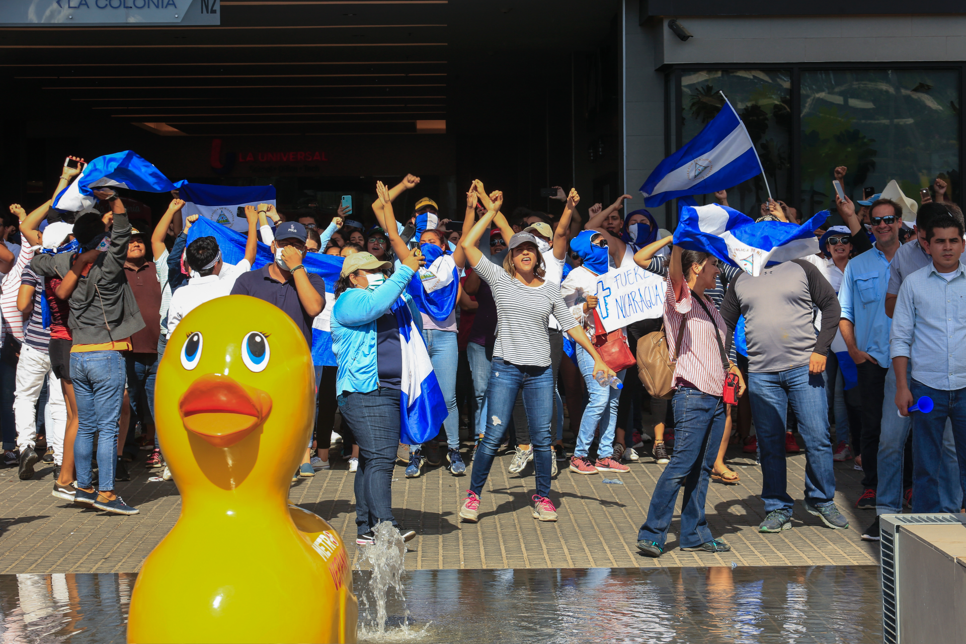Nicaragua opposition demands conditions for resuming talks