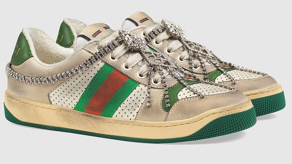 Gucci's $900 'dirty' sneakers slammed on Twitter