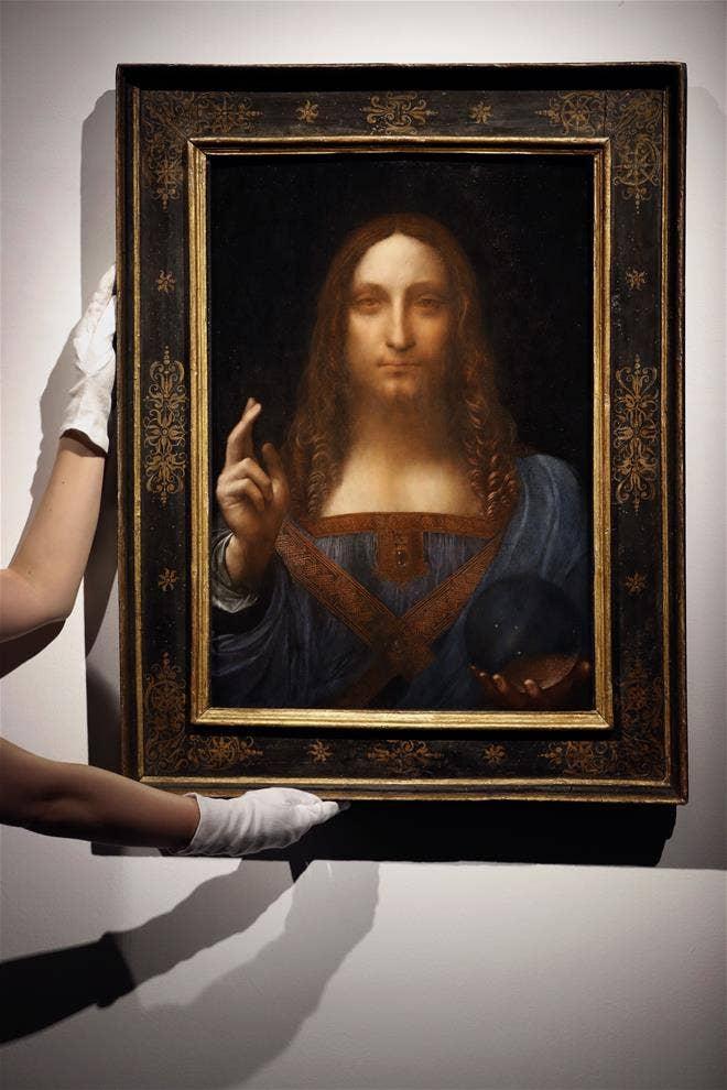 Mystery of orb in a record-breaking Leonardo Da Vinci painting deepens