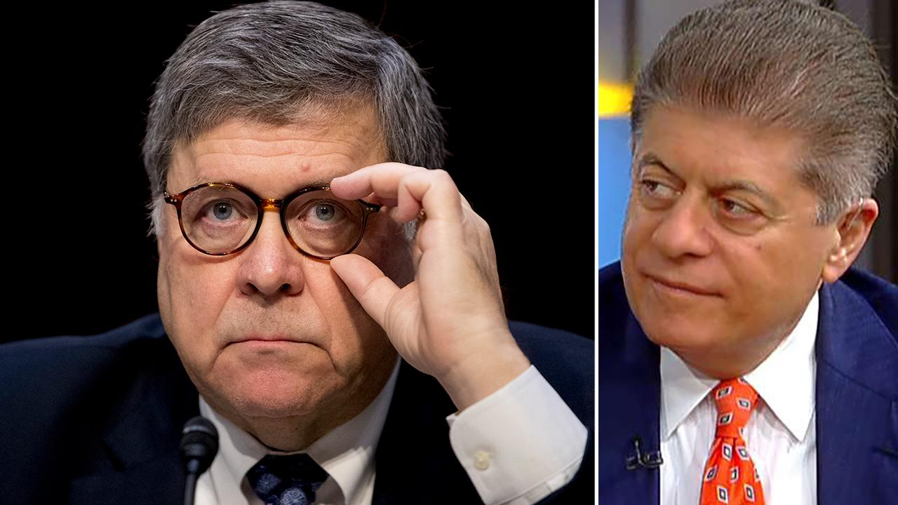 Westlake Legal Group 694940094001_6027549922001_6027544795001-vs Mueller should testify, Dems should be able to 'ask him whatever they want:' Judge Nap Lucia Suarez Sang fox-news/topic/fox-news-flash fox-news/person/william-barr fox-news/person/robert-mueller fox-news/news-events/russia-investigation fox news fnc/politics fnc article 2c6f198f-cb34-5e69-8217-4002ff8b6a46