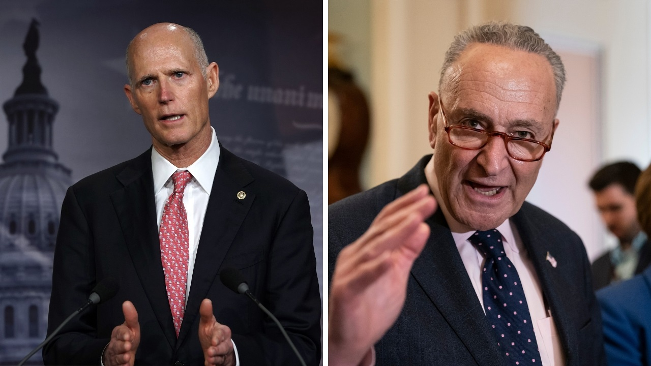 Westlake Legal Group 733f1b7b-split Sens. Rick Scott and Chuck Schumer in Twitter feud over relief aid to Puerto Rico Kathleen Joyce fox-news/politics/senate/republicans fox-news/politics/senate/democrats fox-news/politics/senate fox-news/person/chuck-schumer fox news fnc/politics fnc b9740d4d-21b7-57e8-83b0-632bd6ada834 article