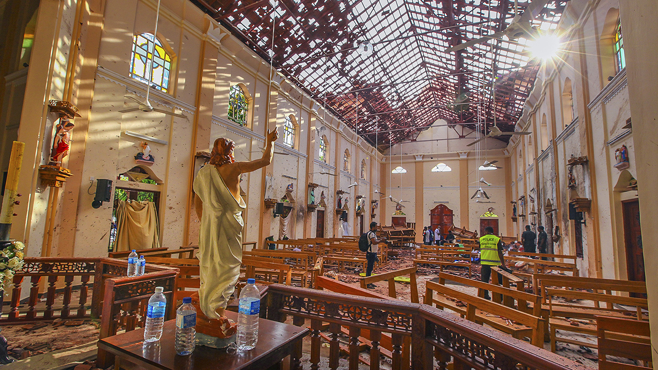 Westlake Legal Group AP19112414033792 ISIS claims responsibility for Sri Lanka Easter bombings, but involvement not verified by officials Greg Norman fox-news/world/world-regions/asia fox-news/world/terrorism/isis fox-news/world/terrorism fox-news/world/religion/christianity fox news fnc/world fnc d214faec-fc02-5d3a-82ab-cf2bde3e3f20 article
