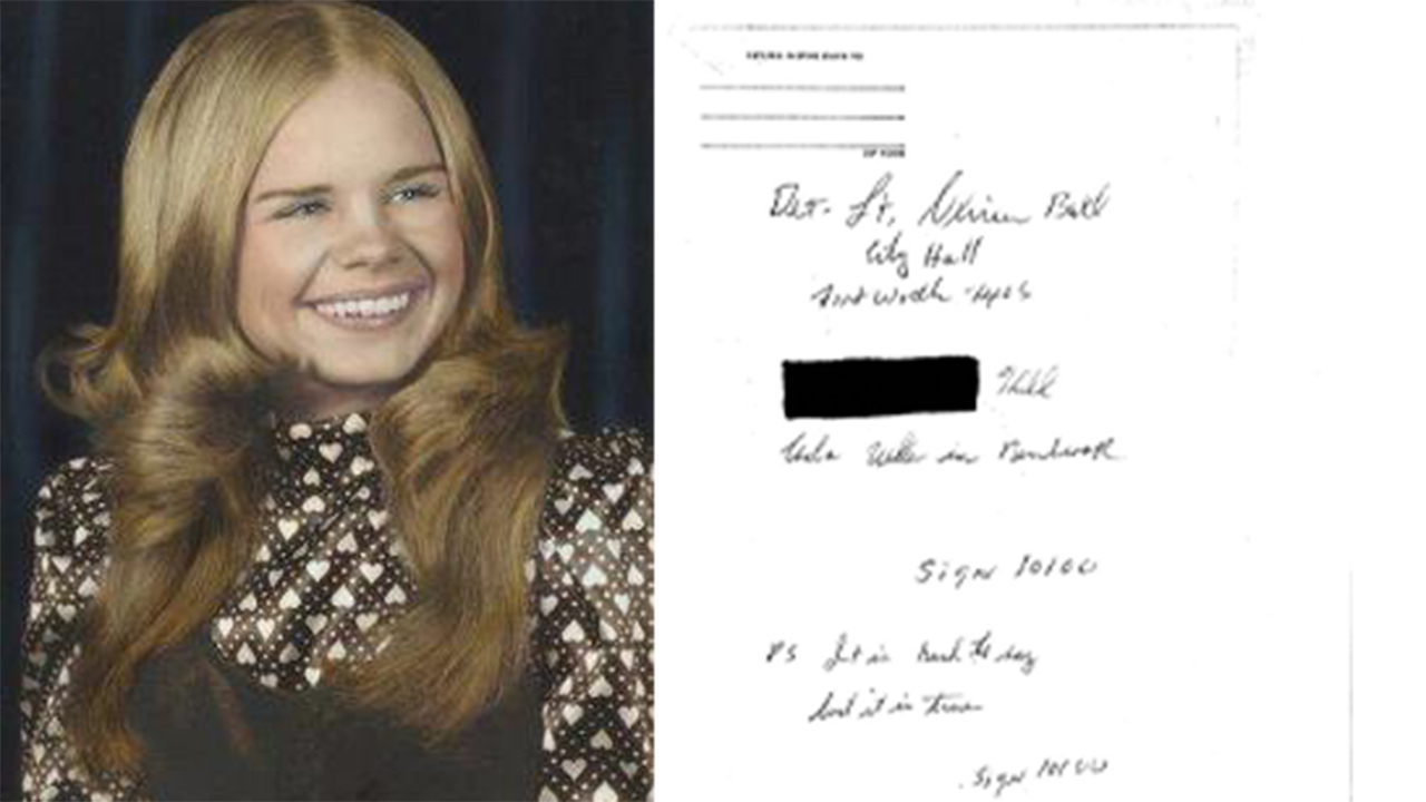 Westlake Legal Group Carla-split Texas police seek author of mystery letter in girl's cold case murder 45 years ago Robert Gearty fox-news/us/us-regions/southwest/texas fox-news/us/crime/cold-case fox news fnc/us fnc cfc097f7-a161-5c74-b1ce-9165ac29af63 article