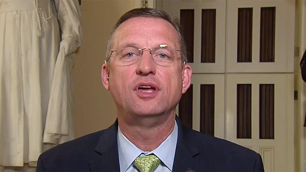 Westlake Legal Group Doug-Collins-FOX Rep. Collins points out problems with Dems defining impeachment probe: 'This is really pathetic' Ronn Blitzer fox-news/news-events/russia-investigation fox news fnc/politics fnc article 77f7d374-deda-542b-bb2d-e3e9afd83e1d