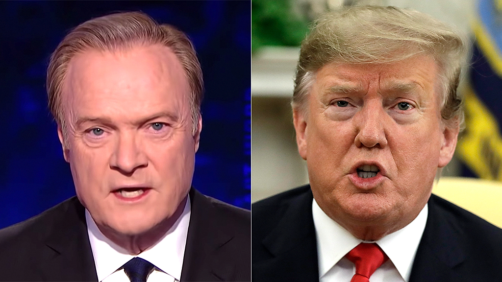 MSNBC host Lawrence O'Donnell declares Trump a 'Russian operative' with Putin as 'running mate'