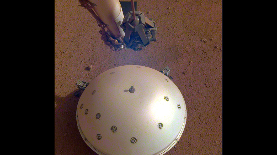 NASA's InSight lander records first-ever 'Mars quake'