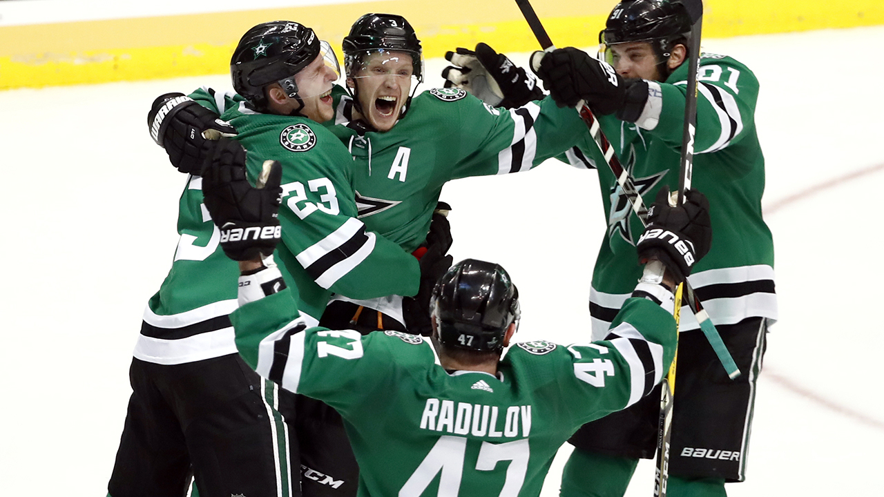 Klingberg's OT goal pushes Stars over Preds to advance