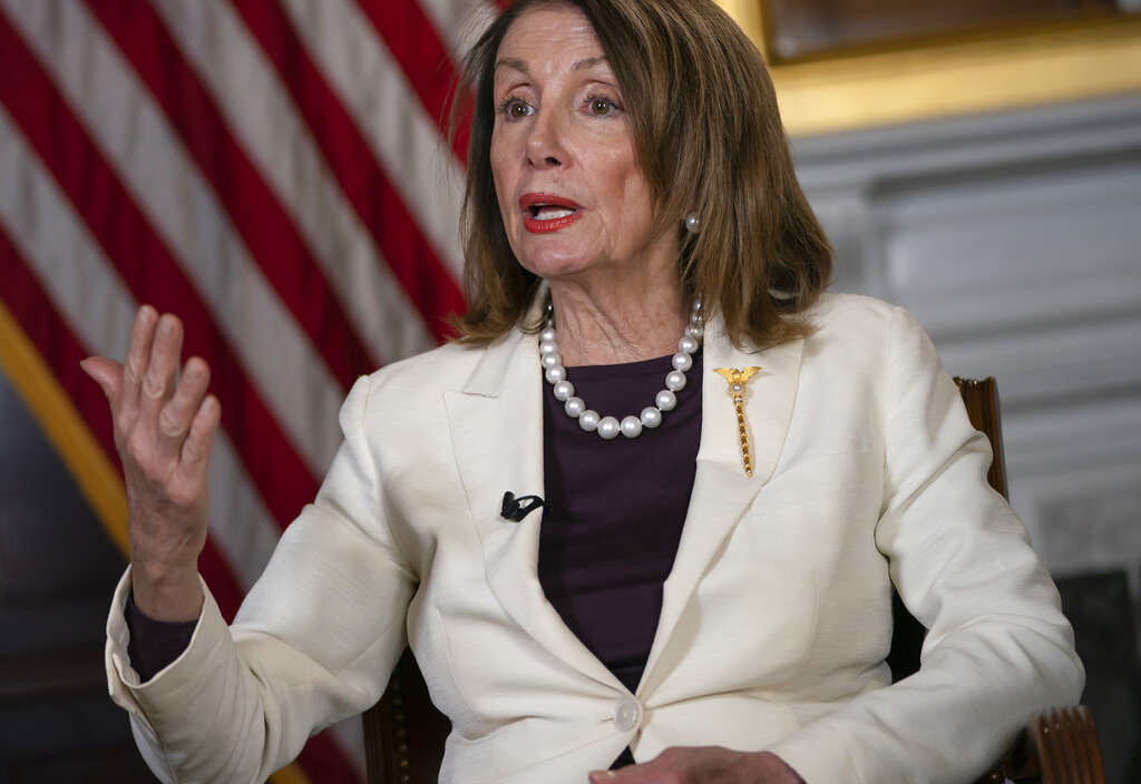 Pelosi appears to take new jab at Ocasio-Cortez, says 'a glass of water' with a 'D' could win their districts