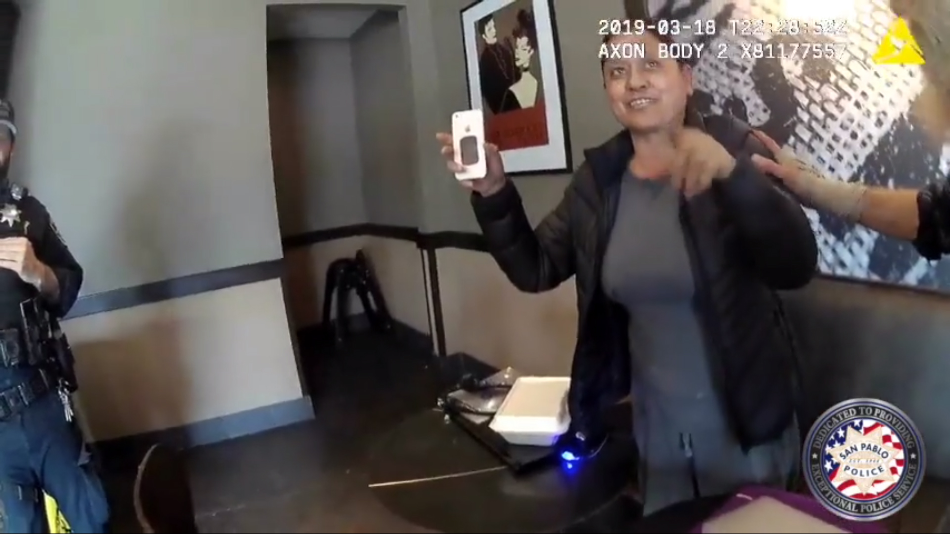 Police threaten to arrest Starbucks customer after mistaking her for different woman, body-cam footage shows