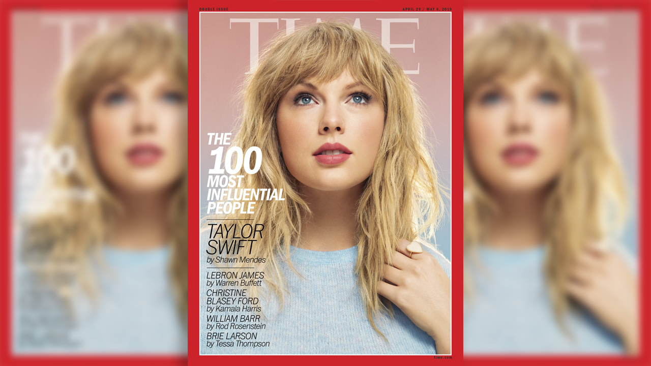 Taylor Swift sports $7G in clothing, accessories for Time honor