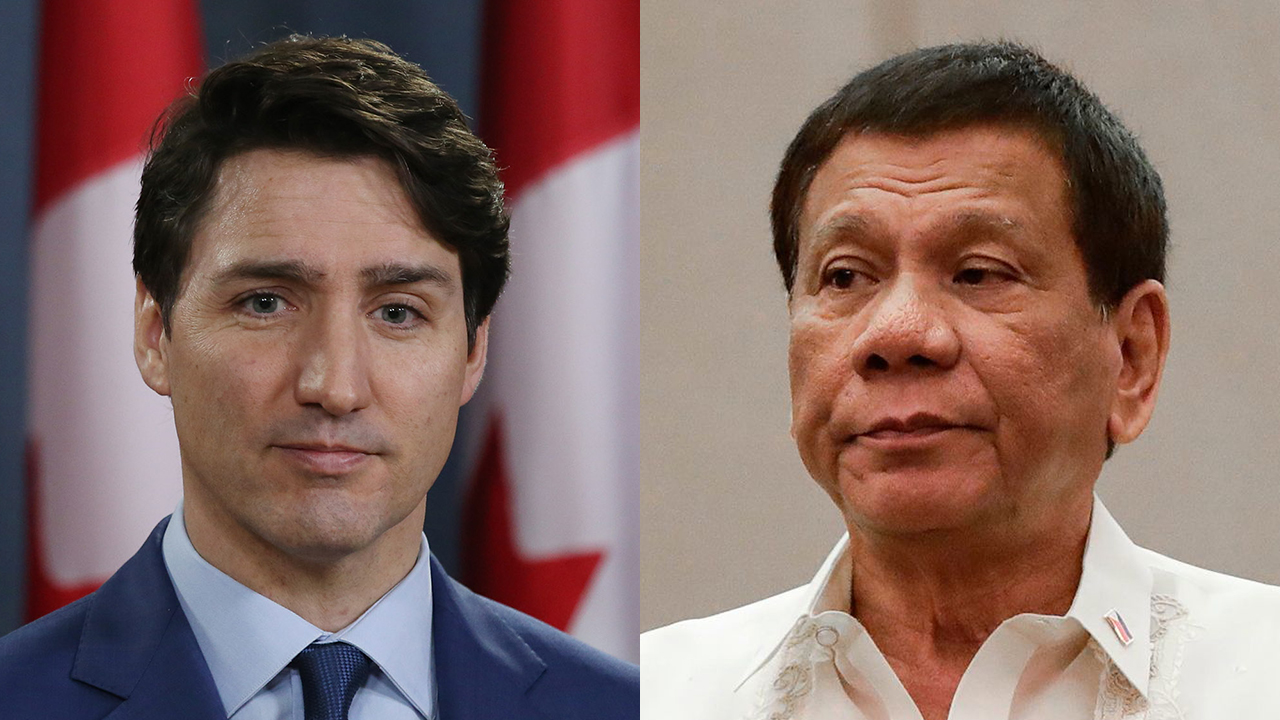 Westlake Legal Group Trudeau-Duterte-Getty Canada-Philippines trash war: Who would win if Duterte actually followed through with his threat? fox-news/world/world-regions/canada fox-news/world/world-regions/asia fox-news/politics/defense/wars fox-news/person/donald-trump fox news fnc/world fnc Barnini Chakraborty article 8d5194a5-96d7-540c-aae6-87f864558e65