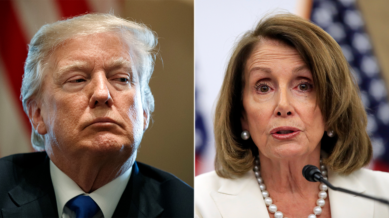 Westlake Legal Group Trump-Pelosi-AP White House threatens veto on current House emergency aid bill Paulina Dedaj fox-news/us/immigration/border-security fox-news/us/immigration fox-news/politics/executive/white-house fox news fnc/politics fnc article 12d8a8ad-a563-5255-8ff3-258d583a9d95