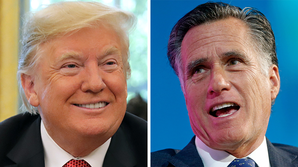 Westlake Legal Group Trump-Romney Romney takes veiled shot at Trump over 'flattery' of Russian, North Korean leaders Sam Dorman fox-news/politics/elections/republicans fox-news/person/donald-trump fox news fnc/politics fnc b60a5e88-96a5-5567-876f-87e1d355261c article