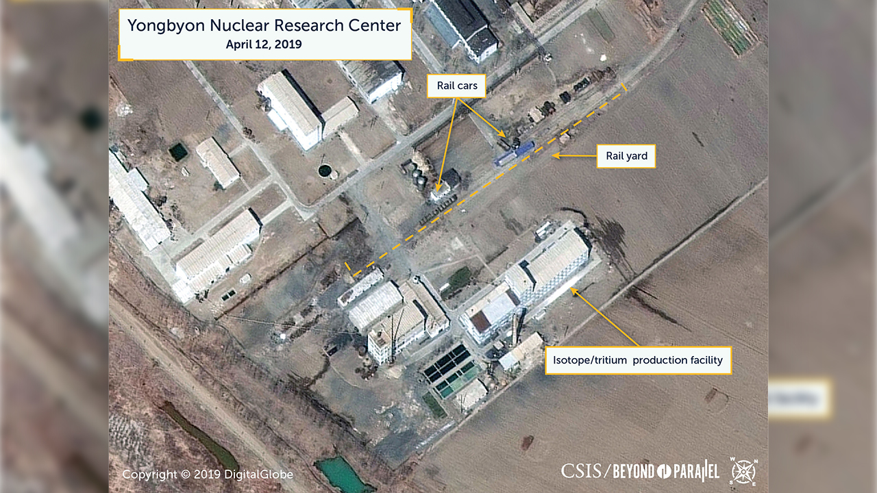 Movement at North Korea's main nuclear site seen in satellite photos