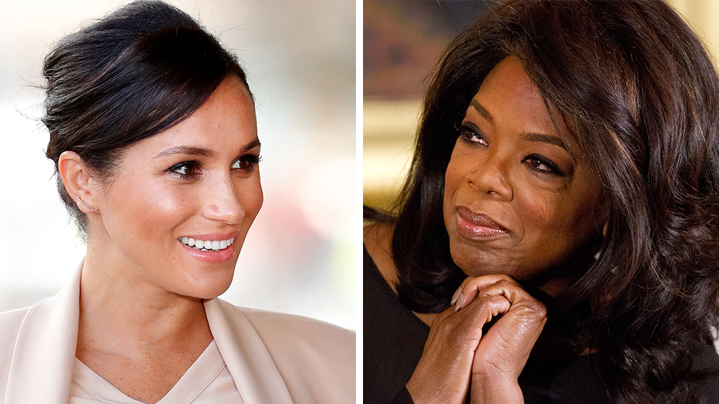 Oprah Winfrey advised Prince Harry and Meghan Markle on Megxit
