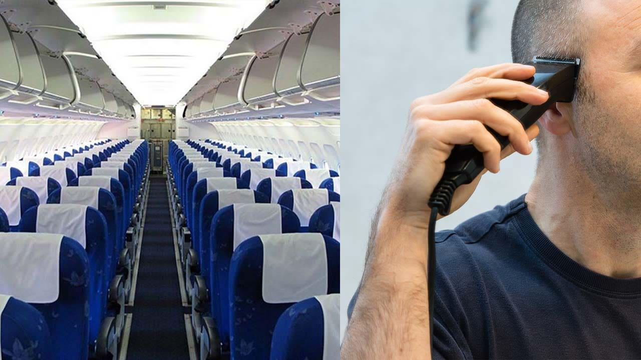 Westlake Legal Group plane-cabin-man-shaving-head-istock 'Disgusting' passenger shamed for shaving his head during flight The Sun Kara Godfrey fox-news/travel/general/airlines fox-news/lifestyle fnc/travel fnc article 5c172c78-866d-5563-a3ba-ec942ecbf9c7