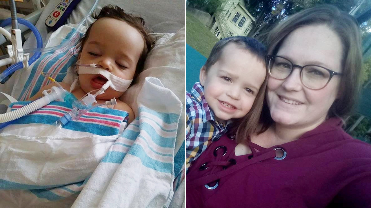 Mom says toddler nearly died after accidentally eating laundry pod: 'We got very lucky'