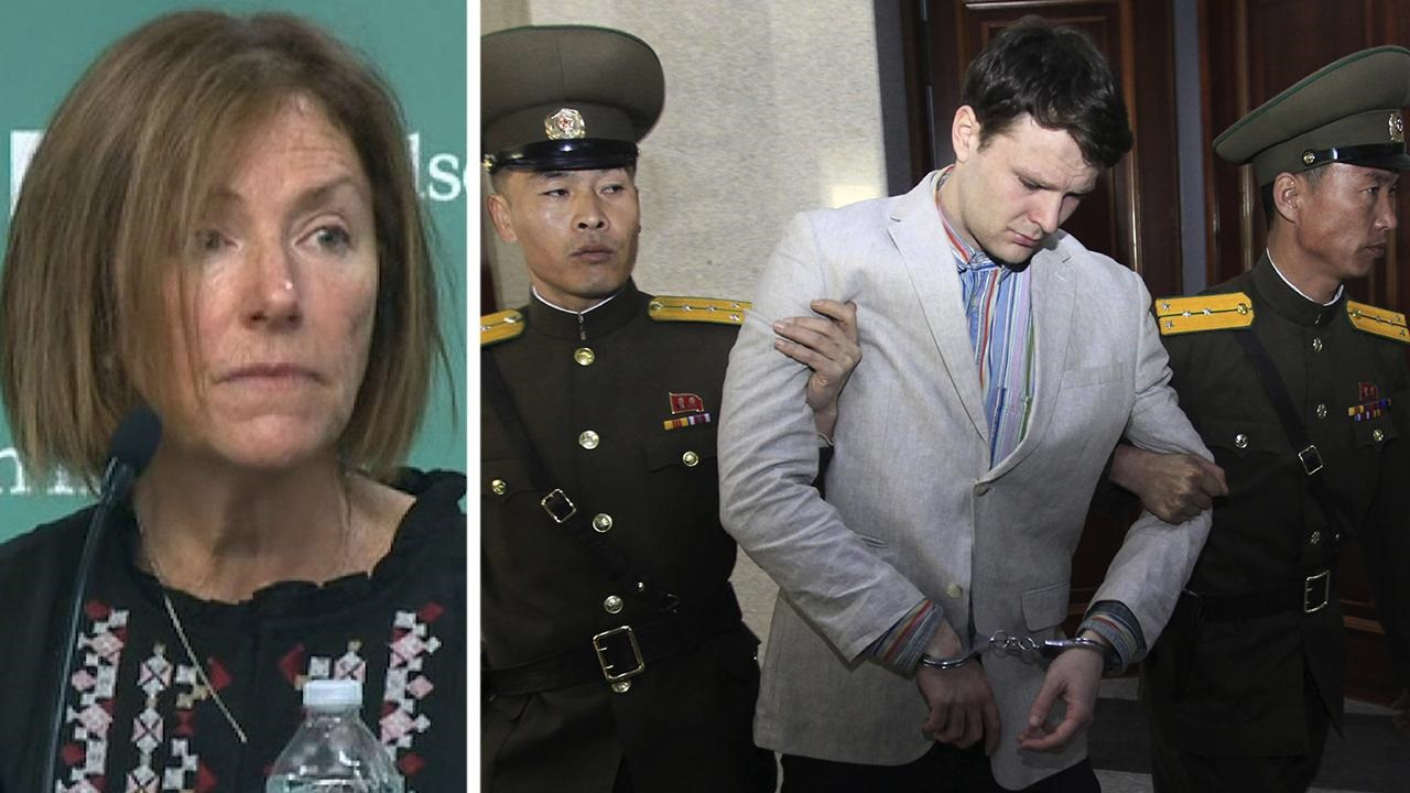 Westlake Legal Group 694940094001_6032673866001_6032668790001-vs Otto Warmbier's mother says North Korea 'a cancer on earth', calls diplomacy a 'charade' Kathleen Joyce fox-news/world/conflicts/north-korea fox-news/world/conflicts fox-news/us fox-news/person/kim-jong-un fox news fnc/world fnc f250205f-a342-5503-87fb-c1113384a3b6 article
