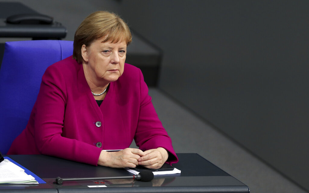 Angela Merkel clumps US with Russia, China as European adversary