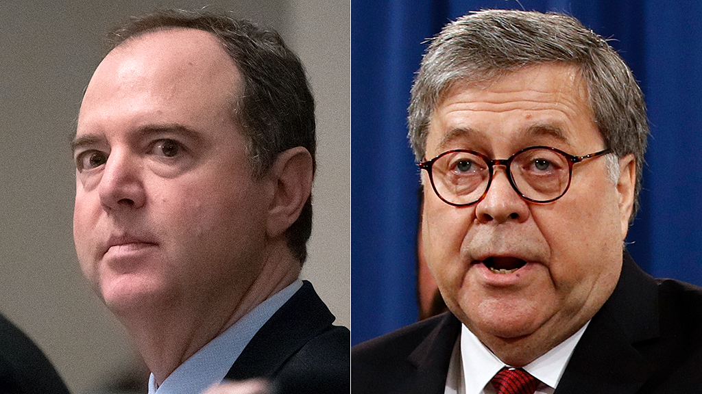 Westlake Legal Group Adam-Schiff-William-Barr-AP Hans von Spakovsky: Dems support cover-up by opposing Trump disclosure order on campaign surveillance Hans von Spakovsky fox-news/person/william-barr fox-news/person/robert-mueller fox-news/person/nancy-pelosi fox-news/person/donald-trump fox-news/person/adam-schiff fox-news/opinion fox-news/news-events/russia-investigation fox news fnc/opinion fnc article aa1f9f82-f0b7-5436-b5cc-5579d10cf7b6
