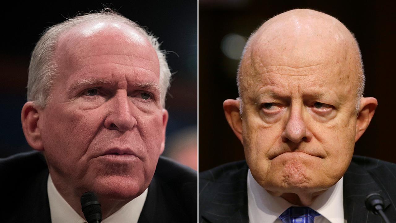 Brennan, Clapper lash out at Trump for declassifying 2016 election intel