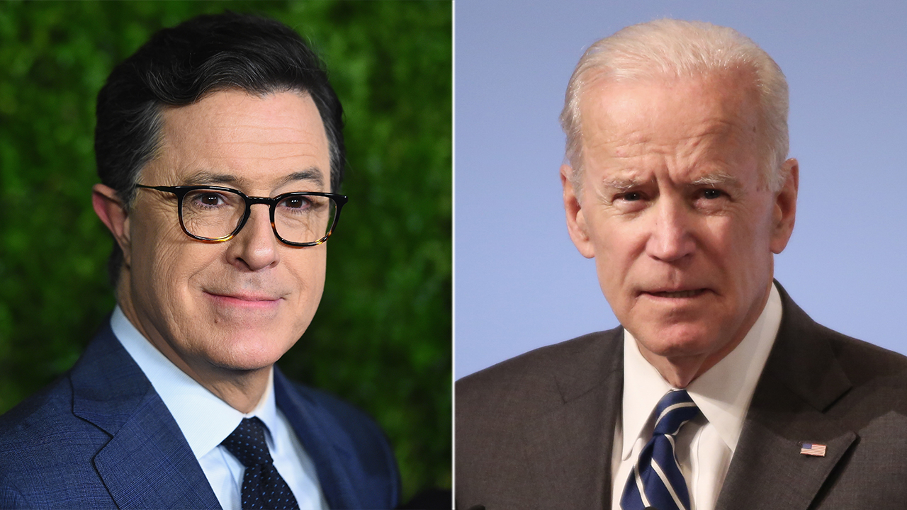 Westlake Legal Group Colbert-Biden-Getty Biden on defensive when pressed by Colbert about gaffes Joseph Wulfsohn fox-news/politics/2020-presidential-election fox-news/person/stephen-colbert fox-news/person/joe-biden fox-news/media fox-news/entertainment/politics-on-late-night fox news fnc/entertainment fnc ca465481-834e-50ee-806a-89df3d726ff0 article