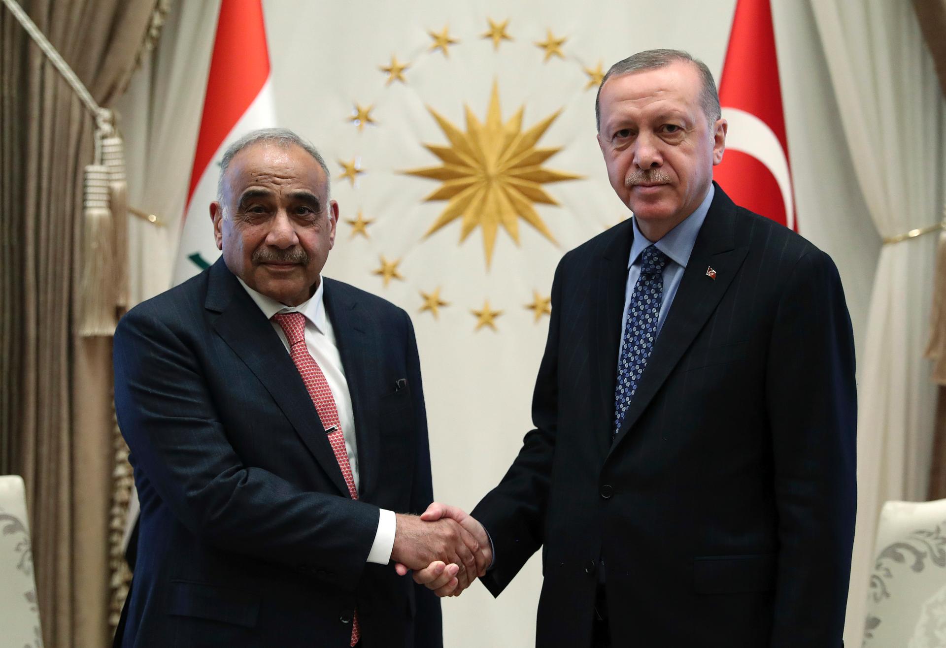 Turkish, Iraqi leaders discuss military cooperation