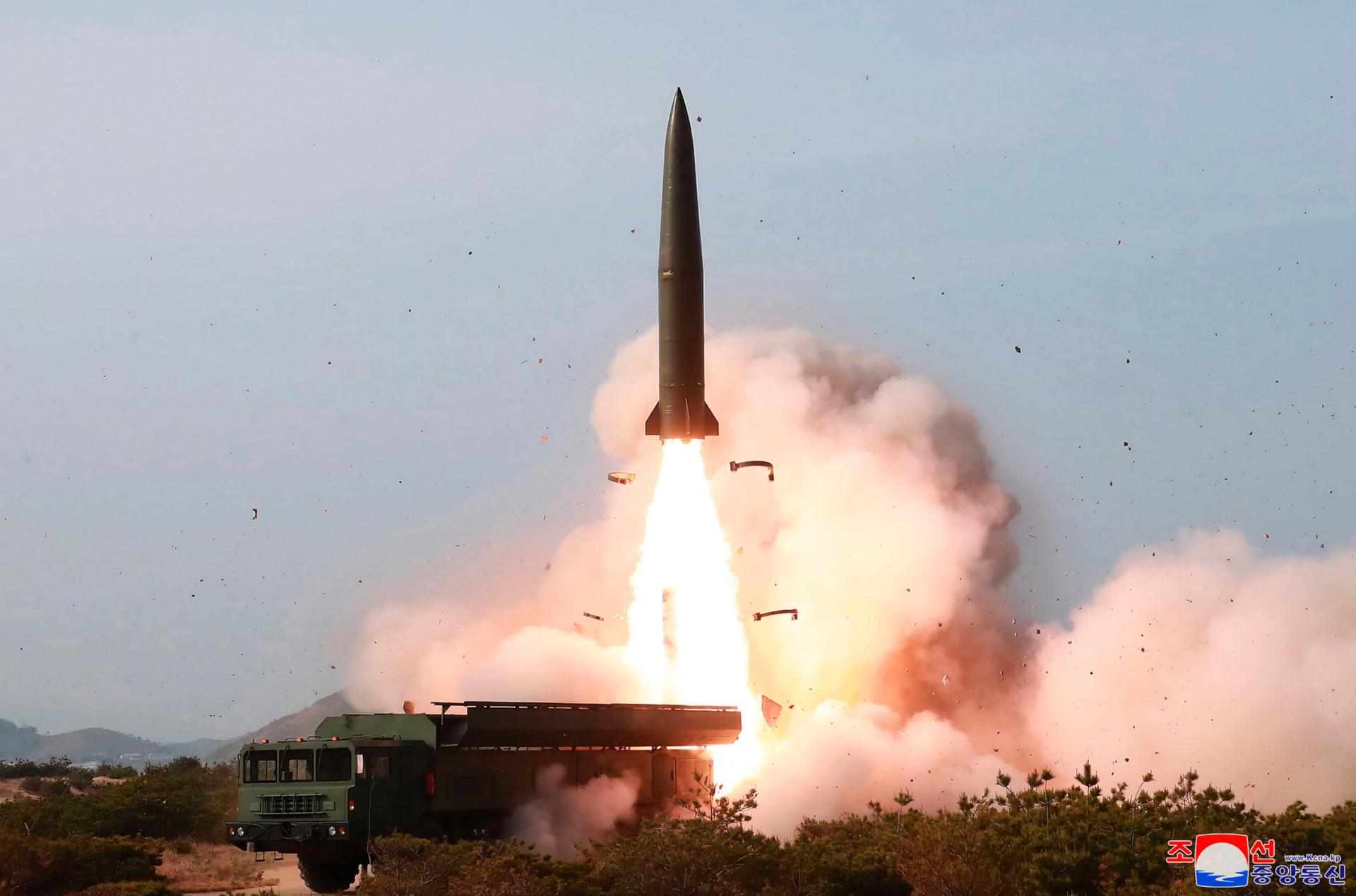 Westlake Legal Group ContentBroker_contentid-5924a9d212964f23b2fe4b42e4abf6e2-1 North Korea tests new missile _ and Trump's resolve fox-news/world/world-regions/asia fox-news/world fnc/world fnc ERIC TALMADGE Associated Press article a646c532-ba2a-504c-83ca-560704c9e3b4