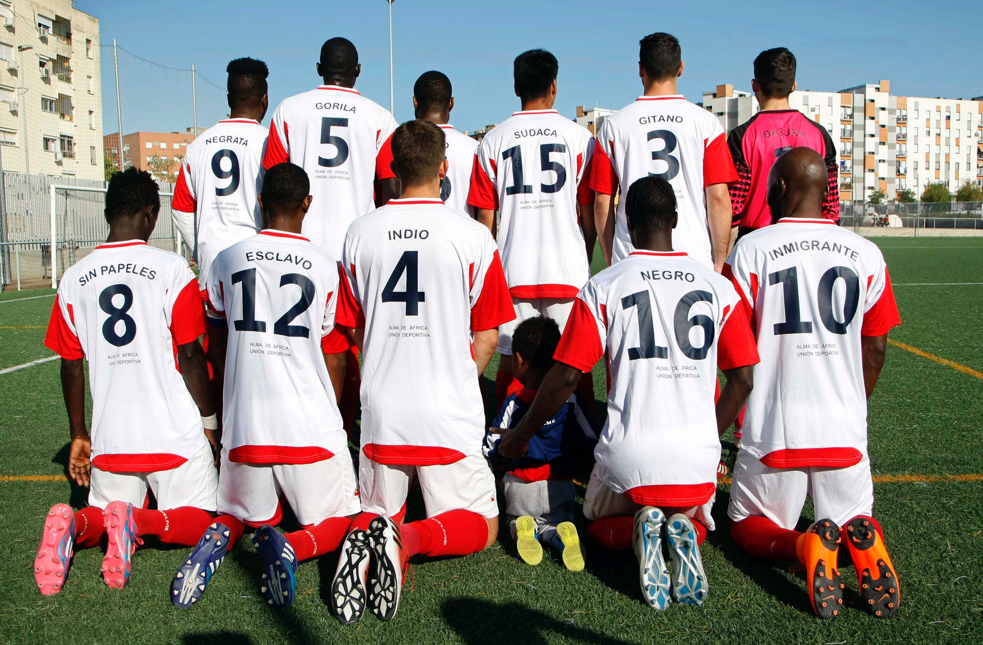 No escape from racism: migrant team in Spain dons insults