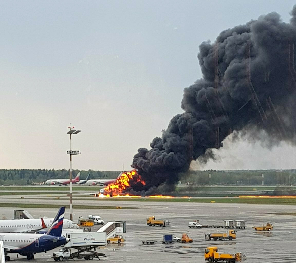 Westlake Legal Group ContentBroker_contentid-d84938a0ff1346658a57908e7303920a The Latest: Burning plane lands at Moscow airport; 1 death moscow fox-news/world/world-regions/europe fox-news/world fnc/world fnc Associated Press article 12794071-70f2-5ce9-ad75-22c6e0f5c06f