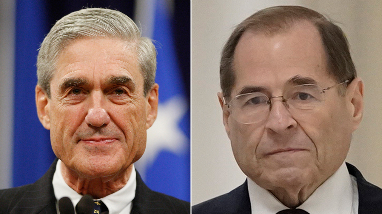 Nadler not worried that GOP could press Mueller for details on Russia probe: 'Let them waste their time'