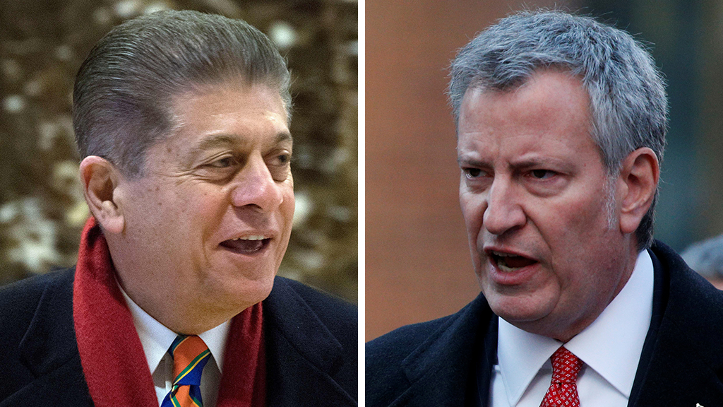 Bill de Blasio's 2020 presidential run an 'almost farcical' bid by 'inept' NYC mayor, Judge Napolitano says