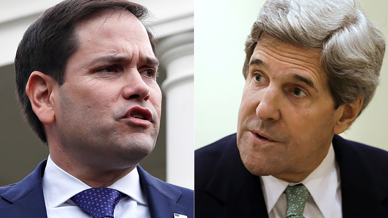 Marco Rubio asks DOJ to investigate John Kerry over contacts with Iran