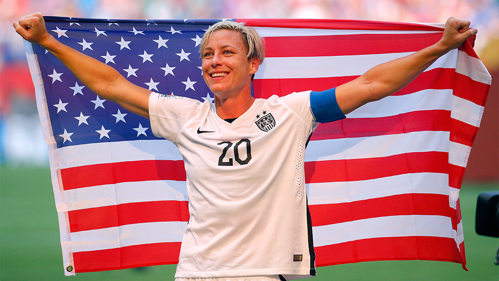 Westlake Legal Group abby-wambach-Getty Former US women's soccer star Abby Wambach says World Cup win gives team leverage in equal pay fight Ryan Gaydos fox-news/sports/soccer/the-world-cup fox-news/sports/soccer fox-news/newsedge/sports/womens-world-cup fox news fnc/sports fnc article a70b5d01-7286-572d-a4ac-be49d93f48bf