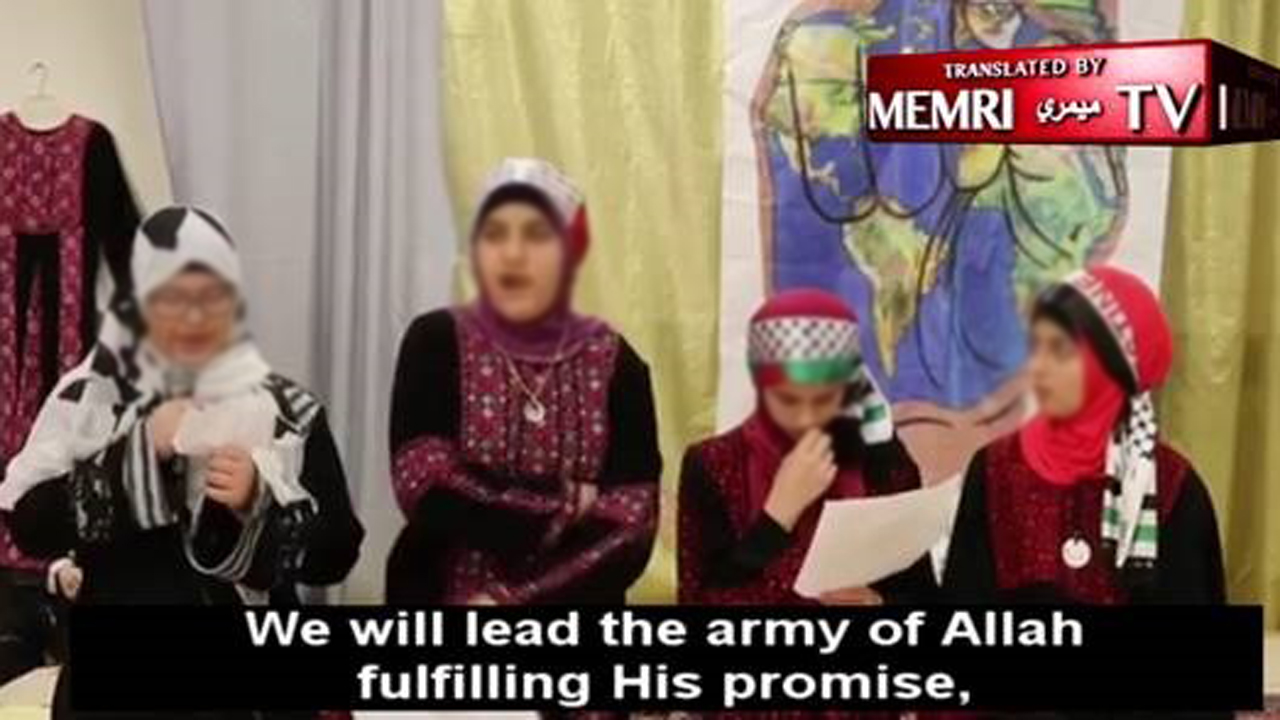 Shocking video of children in Philadelphia Muslim Society: 'We will chop off their heads' for Allah thumbnail