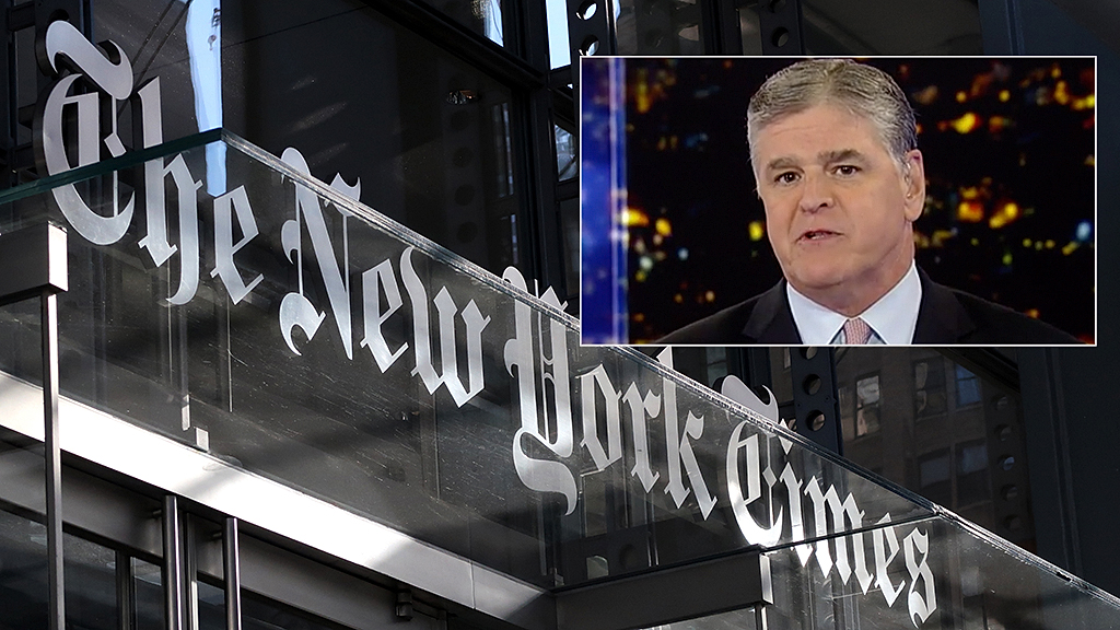 Westlake Legal Group hanity-nyt Sean Hannity: The New York Times is 'running scared,' worried it fell victim to the 'conspiracy media mob' Liam Quinn fox-news/topic/fox-news-flash fox-news/person/donald-trump fox-news/news-events/russia-investigation fox-news/entertainment/media fox news fnc/politics fnc article 038ae4f0-f398-5339-aac9-4ba27cc06964