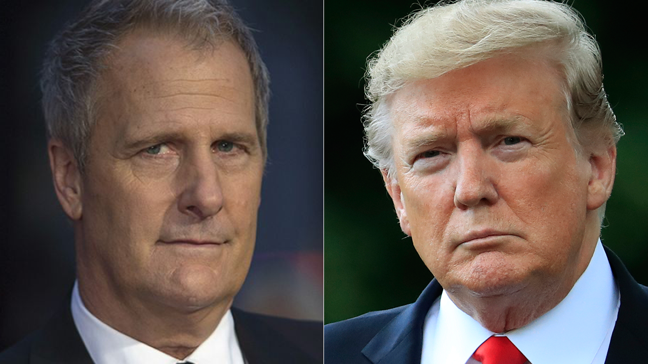 Jeff Daniels: Trump has 'completely soiled' the Oval Office