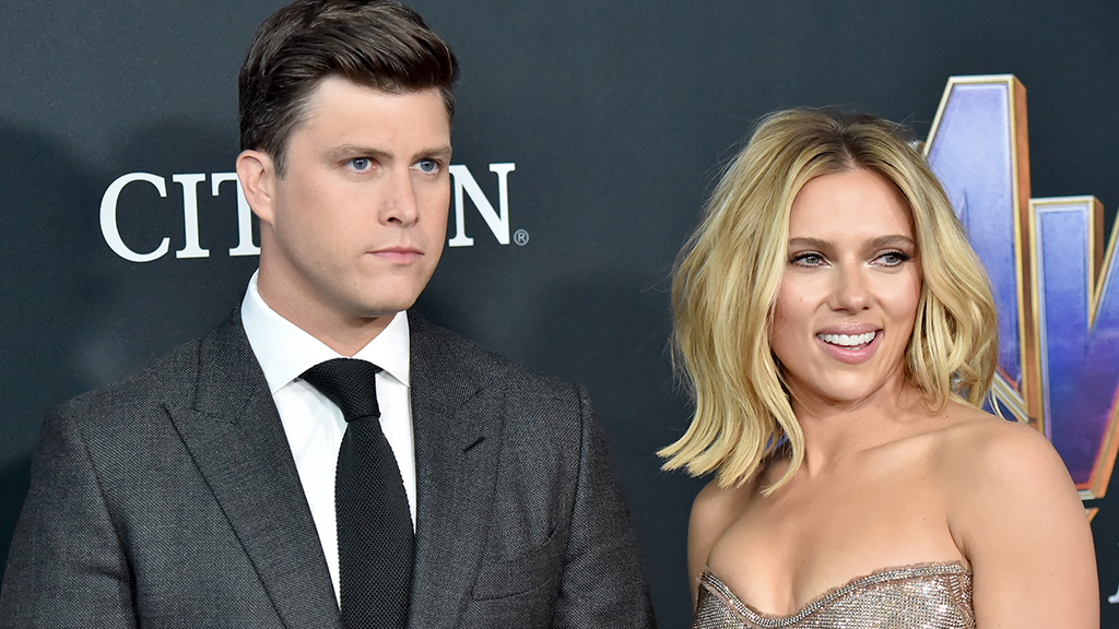 Scarlett Johansson and Colin Jost engaged after 2 years of dating