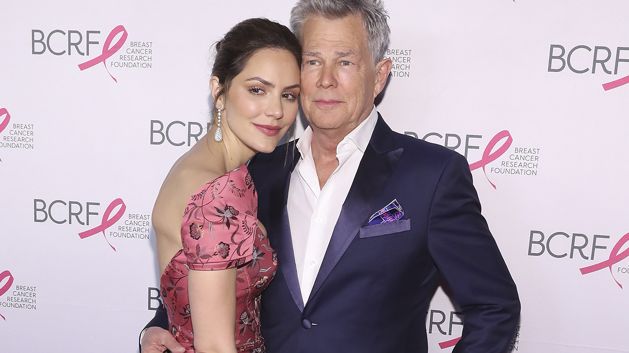 David Foster on wife Katharine McPhee: 'Singing, acting, beauty, she's got it all'