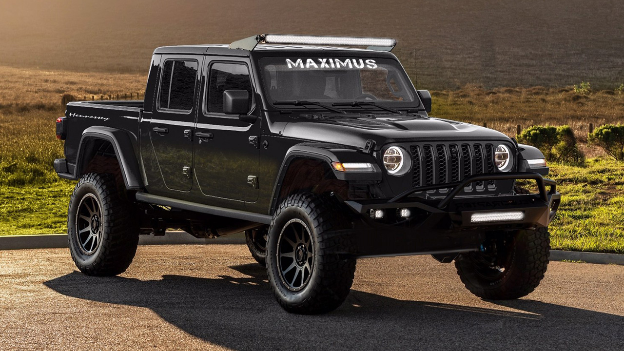 The 1,000 hp Hennessey Maximus is the Jeep Gladiator from Hell
