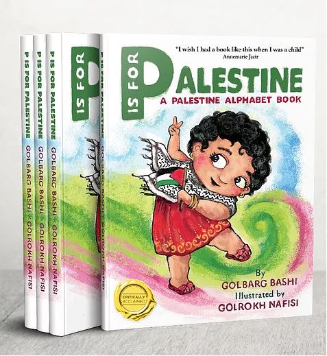 Critics blast 'P is for Palestine' children's book as anti-Semitic; library postpones author event