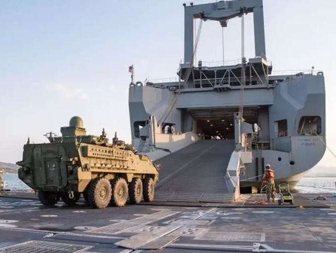 FOX NEWS: Military sealift may need more help to get combat vehicles to Europe