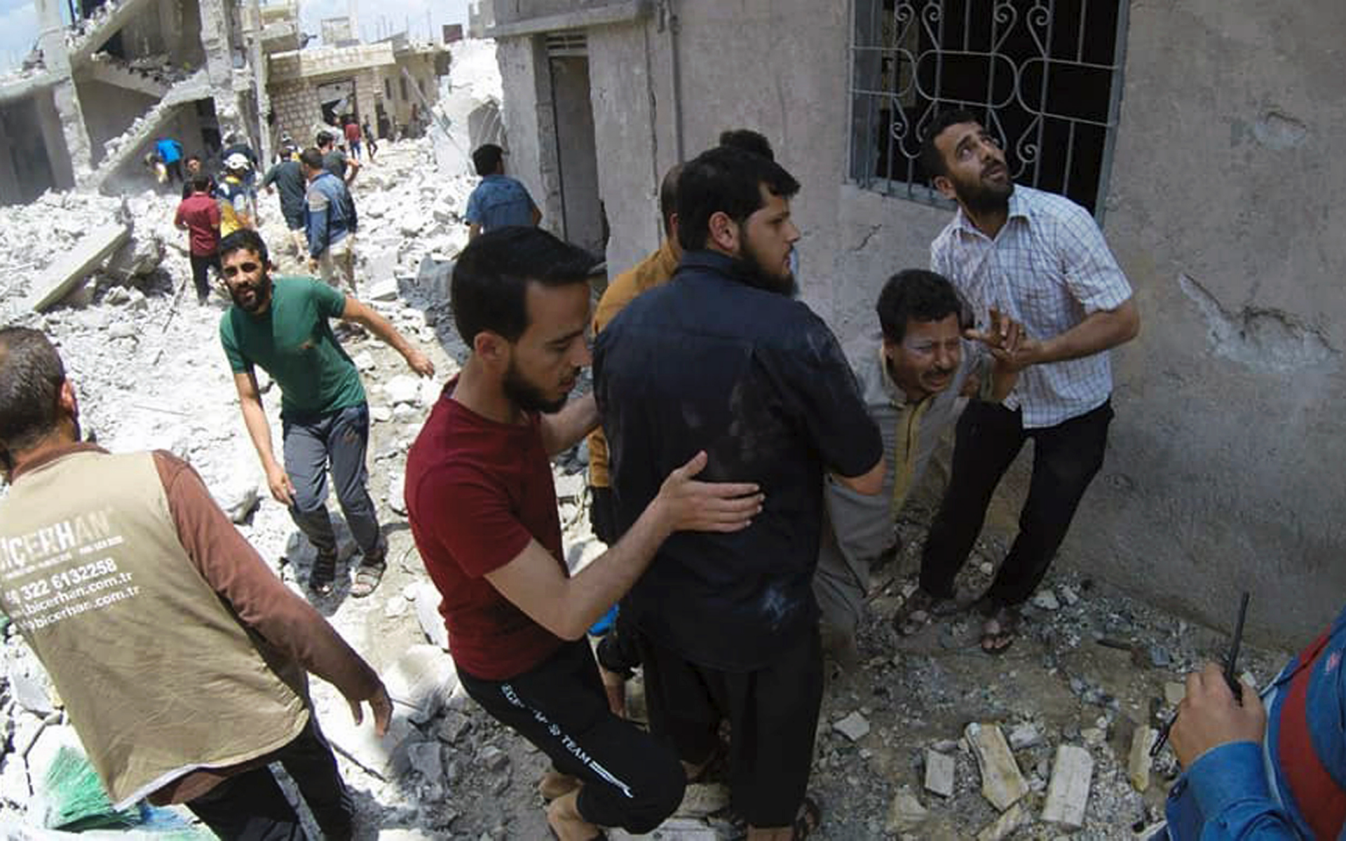 UN chief urges Russia and Turkey to stabilize Syria's Idlib