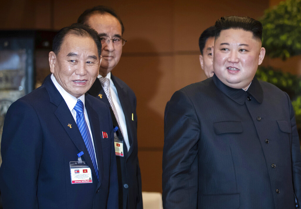 Westlake Legal Group AP19154065544865 Senior North Korea official thought imprisoned by Kim Jong Un pictured at concert with dictator Vandana Rambaran fox-news/world/conflicts/north-korea fox-news/person/kim-jong-un fox news fnc/world fnc article 2b4b14d2-9014-5619-acaf-3871f1df4b93