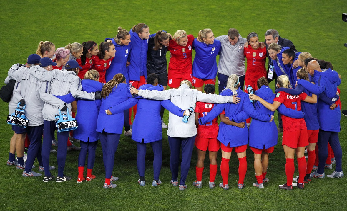 US women's World Cup team comes under criticism for celebrating goals in blowout