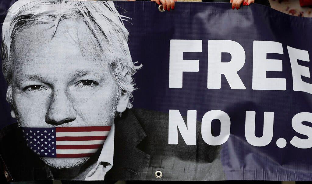 Julian Assange shouldn't be extradited until US returns Harry Dunn's alleged killer to UK: family spokesman